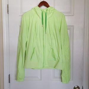 Lululemon Street To Studio Jacket Neon 12